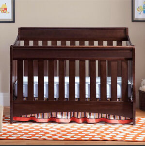 Delta S Series 4in1 Crib in Espresso - Asking $340 OR BEST OFFER