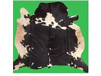 Real cow hide rug
