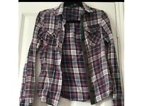 Fox checker shirt