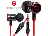 Genuine Monster Beats by Dr Dre iBeats In-Ear Headphones from Monster - Black/White