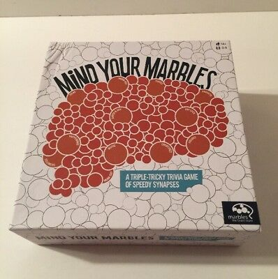 Mind Your Marbles Game by Marbles The Brain Store - 100% Complete!