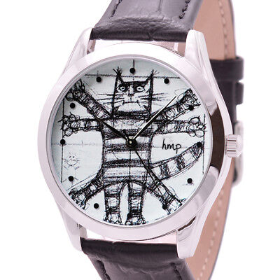 Da Vinci Cat Watch. Gifts for Cat Lovers. Birthday Gifts. Best Friend Gift