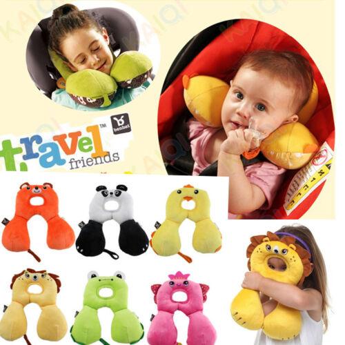 Baby Child Head Neck Suppot Headrest Travel Car Seat Pillow Stroller