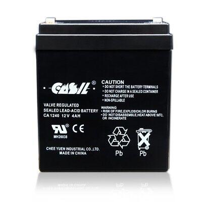 CASIL CA1240 CA-1240 12V 4AH Home Alarm Security SLA Battery 2 Year Warranty