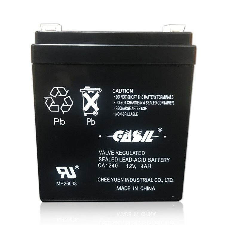 Casil Genuine CA1240 12V 4Ah SLA Alarm Battery Brand New Fre