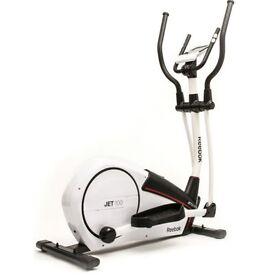 Reebok Jet 100 Series Cross Trainer. Gym equipment . Tread mill