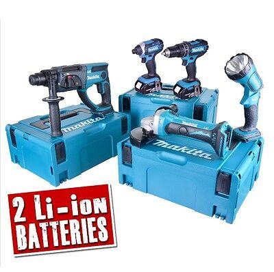 MAKITA 5DMJ 18v Li-ion 4.0Ah Cordless 5 Piece Kit