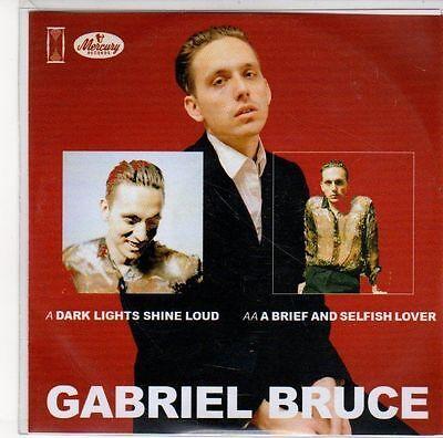 (EE502) Gabriel Bruce, Dark Lights Shine Loud / A Brief And Selfish Lover- DJ CD