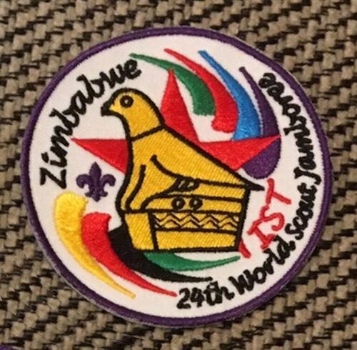 2019 World Scout Jamboree ZIMBABWE IST/Staff Contingent badge