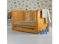 Brand New in Box Mothercare Darlington Sleigh Cotton Bed