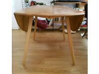 Ercol blond drop leaf table