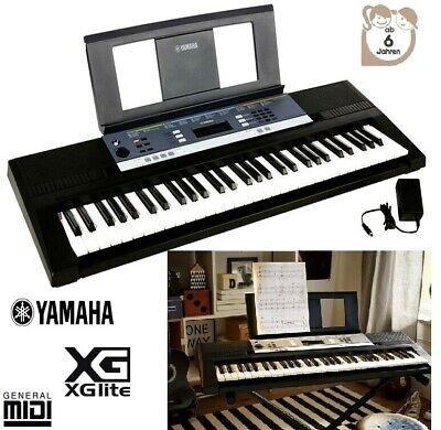 YAMAHA Digital Stereo-Keyboard YPT 240 Musik Keyboard Klavier 61 Tasten Neu