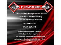 R J Plastering