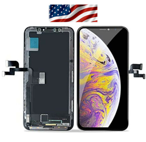 iPhone X XR XS Max OLED LCD Touch Screen Digitizer Replacement Lot