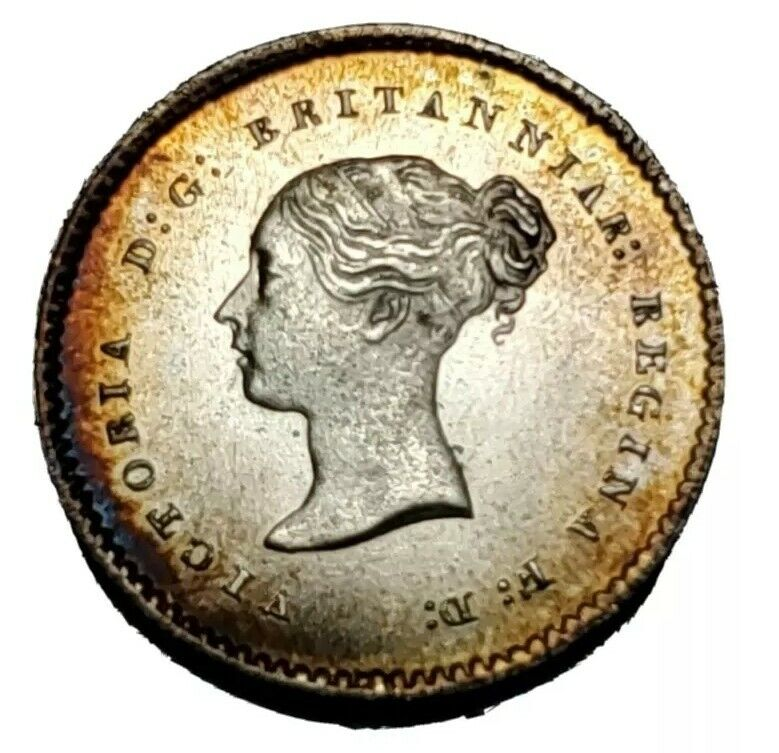 1866 Great Britain twopence Maundy A GEM Gorgeous Coin!