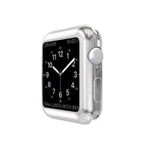 NEW Soft Bumper Case / Screen Protector For Apple Watch 38MM