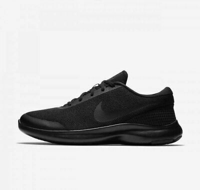 Nike Flex Experience RN 7 4E Wide Men's Running Shoes AA7405 002 Triple Black