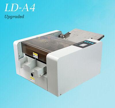 New A4 Business Card Cutter Slitter Photo Flyer Cutting Machine Touch Screen