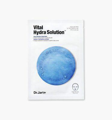 Dr Jart Facial Mask Sheet K-Beauty Moisturizing Vital Hybra Solution 1EA