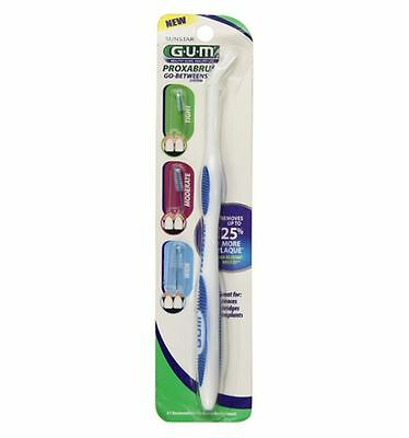 GUM Proxabrush Handle and Refills 1 Each