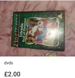 Friends xmas dvd