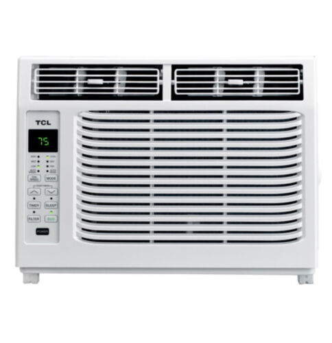 TCL 6,000 BTU WINDOW AIR CONDITIONER WITH REMOTE White 150 S