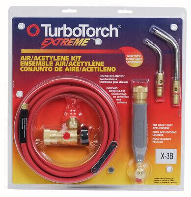 Turbotorch X-3b 0386-0335 Torch Kit For B Tank Air Acetylene