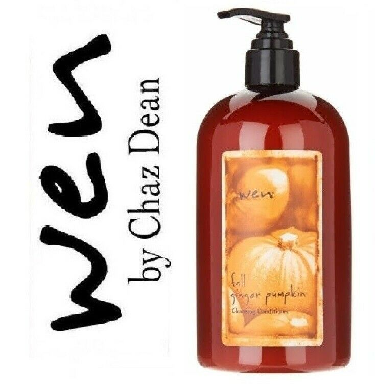 Wen Fall Ginger Pumpkin Cleansing Conditioner By Chaz Dean 16 OZ NEW SEALED - $19.50