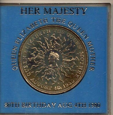 HER MAJESTY QUEEN ELIZABETH THE QUEEN MOTHER 80TH BIRTHDAY 4TH AUGUST 1980 i71te