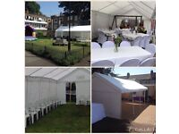 MARQUEE HIRE LONDON / PARTY TENT HIRE LONDON ( chair & table hire )