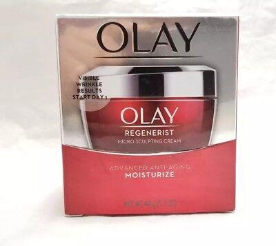 Olay Regenerist Micro-Sculpting Cream Face Moisturizer 1.7oz FREE SHIPPING!