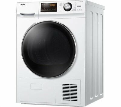 Haier HD90-A636 Heat Pump Tumble Dryer 9kg Rating A++ White Home Appliance