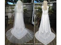 Designer Wedding Dress by Vinka Lucas of New Zealand