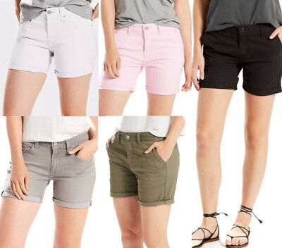 LEVI SHORTS - Levi Mid Length Denim Shorts and Levi Classic Chino Shorts (#Y_A)  ()