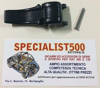 FIAT 500 F/L/R  MANIGLIA   CAPOTTINA  IN ALLUMINIO NERO