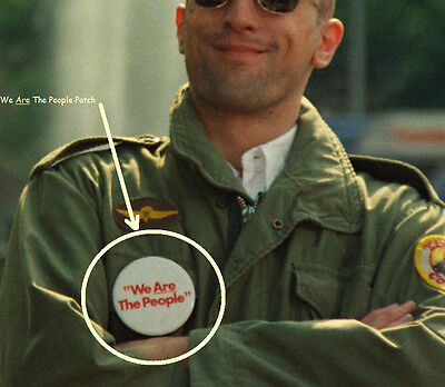 FANCY DRESS HALLOWEEN COSTUME PARTY MOVIE PROP: Taxi Driver M-65 Jacket Patch #2 - Taxi Driver Movie Halloween Costume