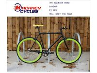 Brand new single speed fixed gear fixie bike/ road bike/ bicycles + 1year warranty & free service 6n