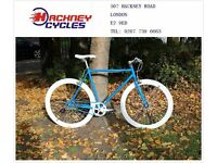 Brand new single speed fixed gear fixie bike/ road bike/ bicycles + 1year warranty & service 7f