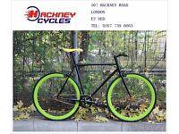 Brand new single speed fixed gear fixie bike/ road bike/ bicycles + 1year warranty & service 2a