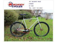 Brand new single speed fixed gear fixie bike/ road bike/ bicycles + 1year warranty & free service pe