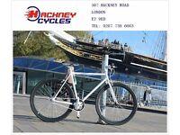 Brand new single speed fixed gear fixie bike/ road bike/ bicycles + 1year warranty & service 40