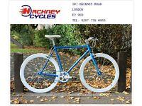 Brand new single speed fixed gear fixie bike/ road bike/ bicycles + 1year warranty & free service 1q