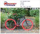Brand new single speed fixed gear fixie bike/ road bike/ bicycles + 1year warranty & free service zi