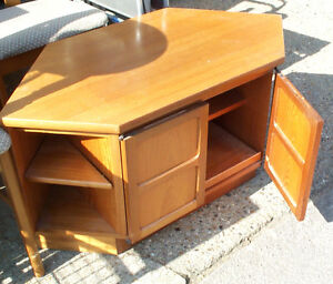 Nathan Teak corner/TV unit