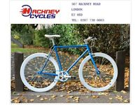 Brand new single speed fixed gear fixie bike/ road bike/ bicycles + 1year warranty & free service w1