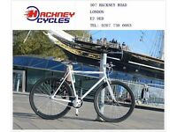 Brand new single speed fixed gear fixie bike/ road bike/ bicycles + 1year warranty & service 3f