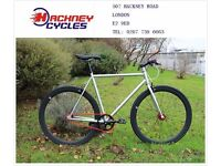 Brand new single speed fixed gear fixie bike/ road bike/ bicycles + 1year warranty & service 6ba