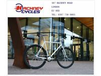Brand new single speed fixed gear fixie bike/ road bike/ bicycles + 1year warranty & free service w2