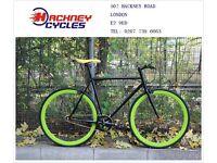 Brand new single speed fixed gear fixie bike/ road bike/ bicycles + 1year warranty & free service 1n