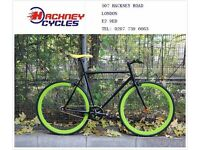 Brand new single speed fixed gear fixie bike/ road bike/ bicycles + 1year warranty & service 2f